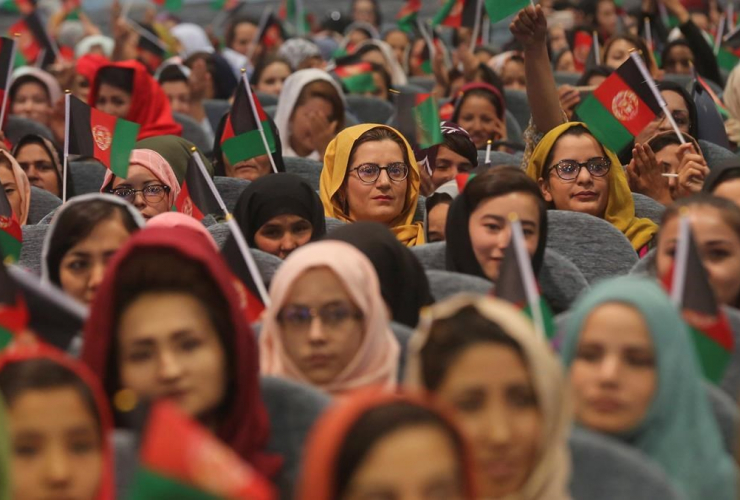 Afghan women, election campaign,