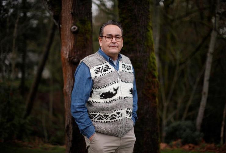 Cowichan Tribes, Derek Thompson,