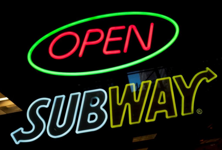 Subway, fast food, restaurant,