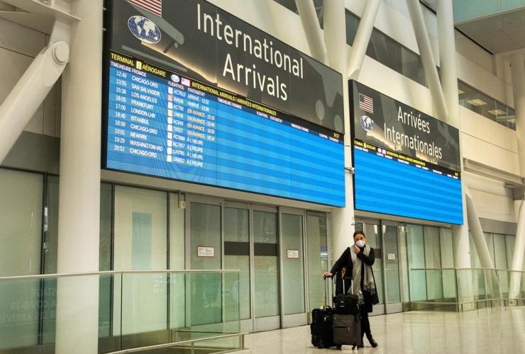 passenger, International Arrivals, Pearson Airport,
