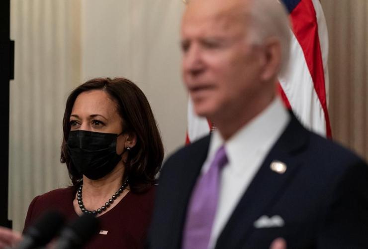 Vice President Kamala Harris, President Joe Biden,