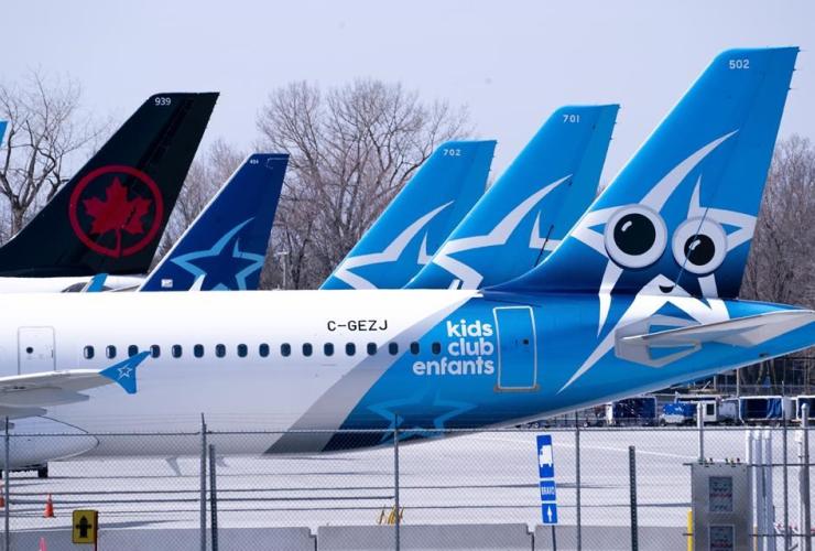 Air Transat, Air Canada,