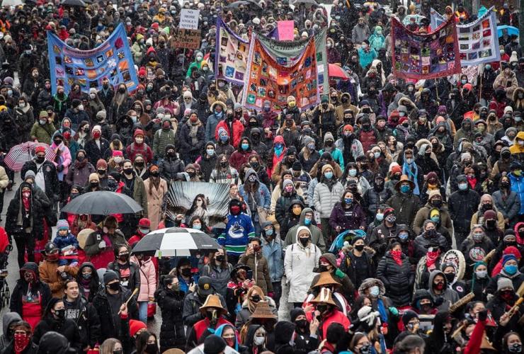 Women's Memorial March, Vancouver,