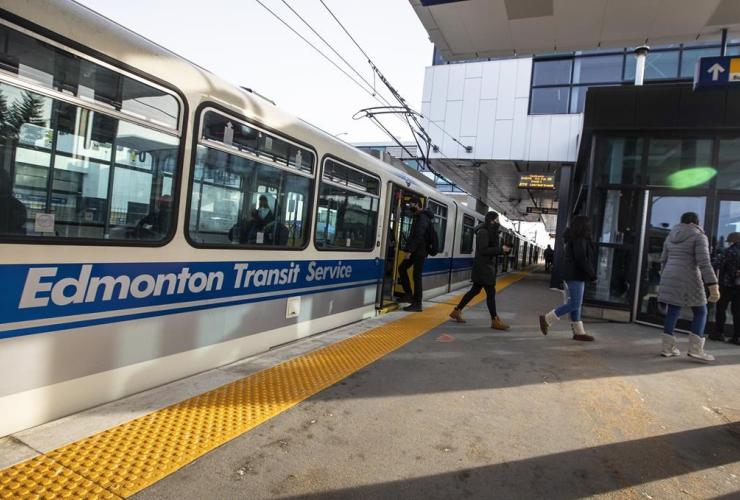 Century Park light-rail transit station, Edmonton,