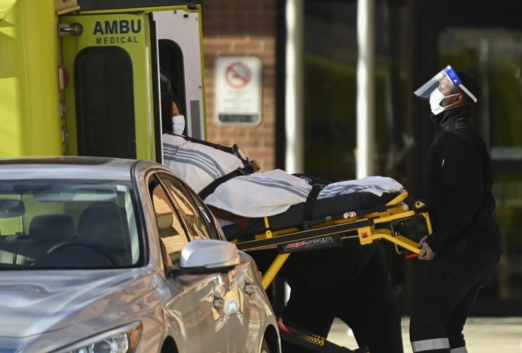 Paramedics, Revera Westside, Long Term Care Home,