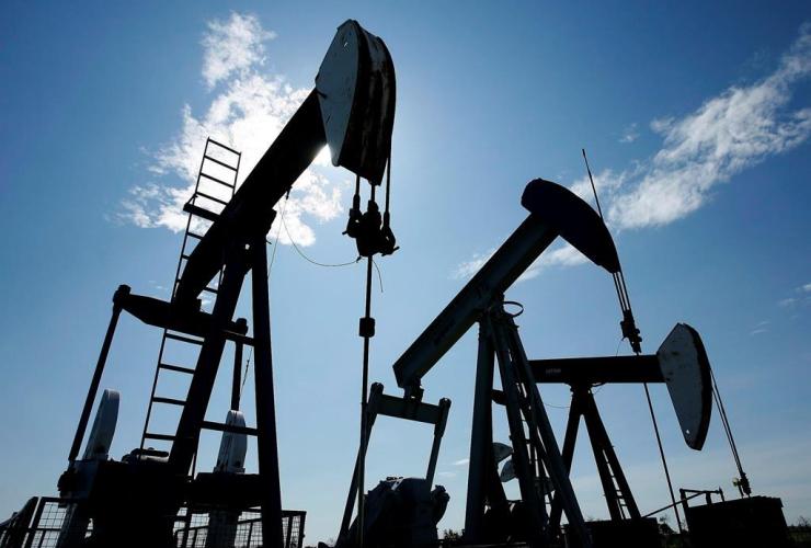 Oil pumpjacks,