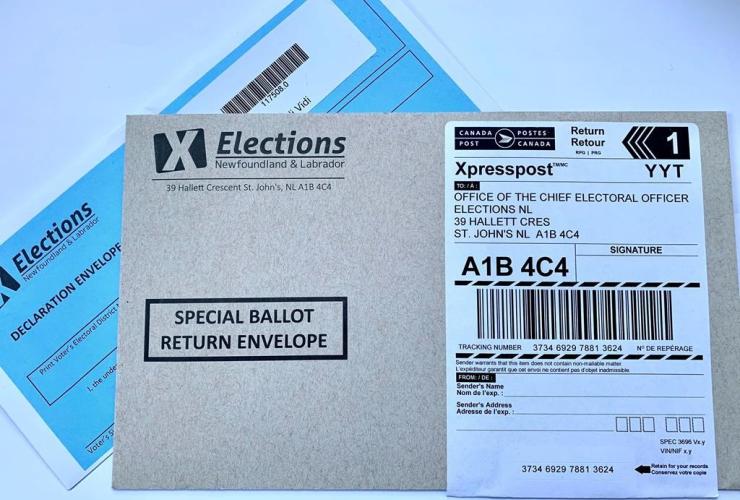 Newfoundland and Labrador ballot,