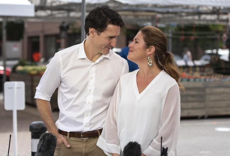 Justin Trudeau, Sophie Gregoire Trudeau,