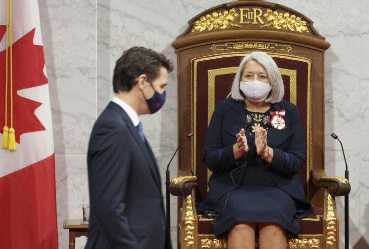 Mary Simon, Justin Trudeau,