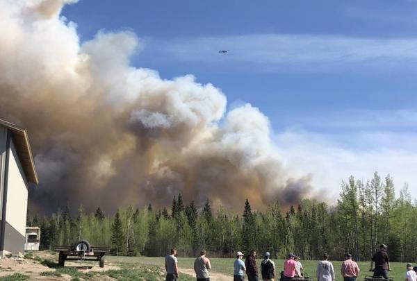 wildfire, Fraser Lake,
