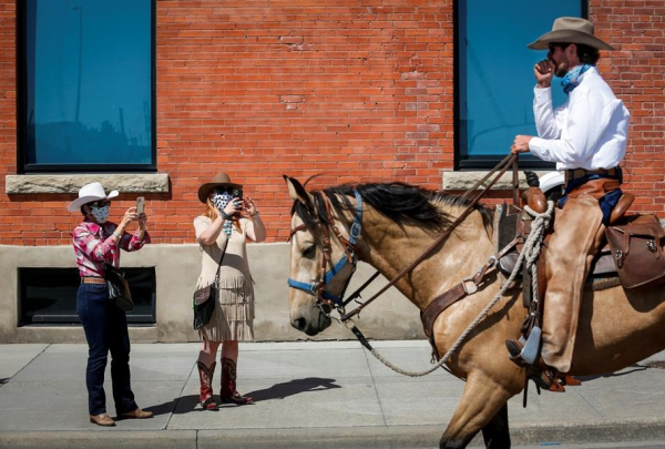 Filipe Masetti Leite, Brazilian cowboy, Alaska, Calgary, parade marshal, Calgary Stampede, horse,