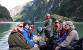 Whale watching tour in B.C. Photo from Bluewater Adventures
