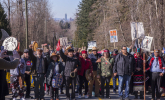 Kinder Morgan Canada, pipeline, Trans Mountain expansion, protest, Burnaby
