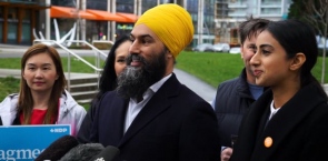 Jagmeet Singh reacts to the byelection announcement