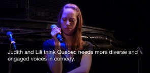 Montreal journalists take on taboos through comedy