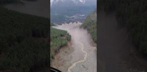 Massive Bute Inlet landslide destroys wildlife habitat on B.C. coast