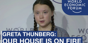 Greta Thunberg: Our House Is On Fire! | World Economic Forum 2019