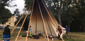 Tristen Durocher's tipi comes down at Wascana Park in Regina: Canada's National Observer.