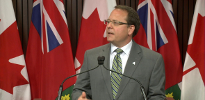 Mike Schreiner - Ontario Green Party leader - Press Conference - June 28th 2018