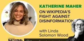 Wikimedia CEO Katherine Maher on disinformation, Wikipedians and Wiki policies